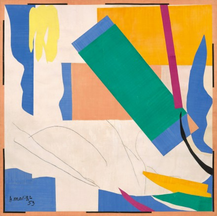 Henri Matisse, Memory of Oceania (1952-53), The Museum of Modern Art, New York. Mrs Simon Guggenheim Fund, 1968. © 2015 Succession H. Matisse / Artists Rights Society (ARS), New York