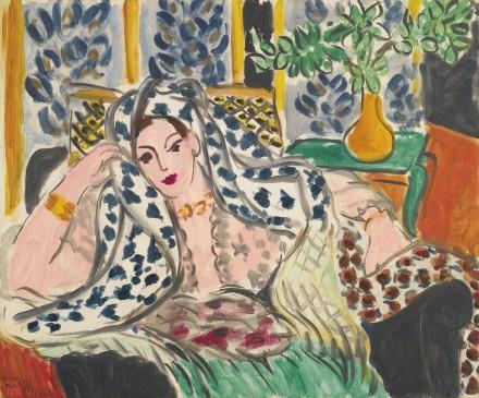 Henri Matisse, Odalisque Au Fauteuil Noir (1942), Via Sotheby's