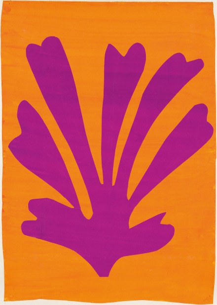 Henri Matisse, Palmette (1947), Mr. and Mrs. Donald B. Marron, New York. © 2015 Succession H. Matisse, Paris : Artists Rights Society (ARS), New York