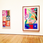 Henri Matisse, The Cut-Outs (Installation View), via Art Observed