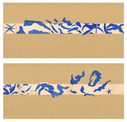 Henri Matisse, The Swimming Pool (1952), The Museum of Modern Art, New York. Mrs Bernard F. Gimbel Fund, 1975 © 2015 Succession H. Matisse : Artists Rights Society (ARS), New York
