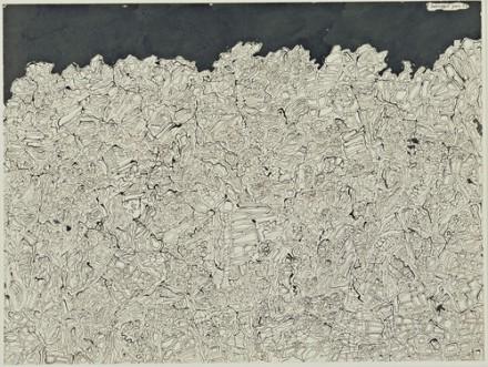 Jean Dubuffet, Landscape (Paysage), (1952) via Museum of Modern Art
