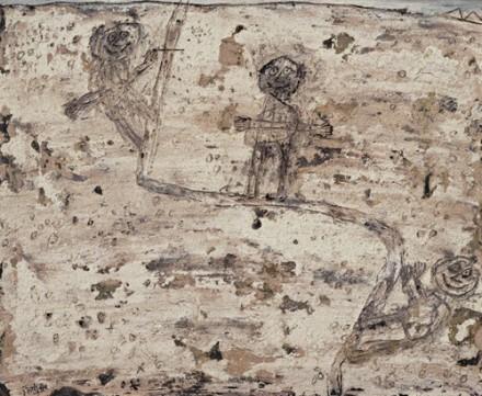 Jean Dubuffet, Desert Track, (1949), via Museum of Modern Art