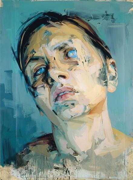 Jenny Saville, Rosetta II (2005-6), via Kunsthaus Zurich
