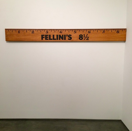 John Waters, Fellini's 8 and 1/2 (2014), via Art Observed