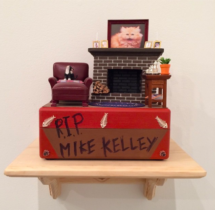 John Waters, RIP Mike Kelley (2014), via Art Observed