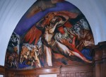 José Clemente Orozco's mural at Pomona College, via Art Newspaper