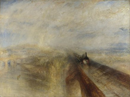 Joseph Mallord William Turner_Rain, Steam and Speed - The Great Western Railway, 1844_Late Turner - Painting Set Free_Tate Britain
