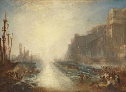 Regulus 1828, reworked 1837 by Joseph Mallord William Turner 1775-1851