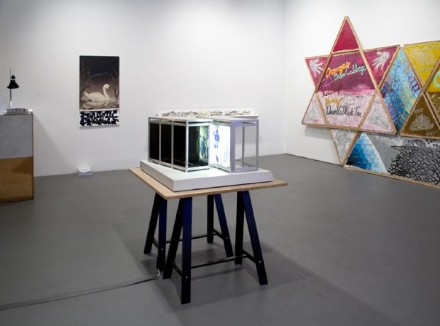 Looking Back The 9th White Columns Annual (Installation View), via White Columns