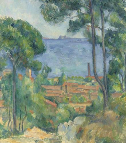 Paul Cézanne, Vue Sur L'estaque Et Le Château D'if (circa 1881-1885), Christie's