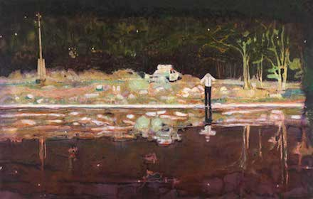 Peter Doig, Echo Lake (1998)