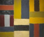 Sean Scully, Wall of Light Peru, 2000, via North Carolina Museum of Art