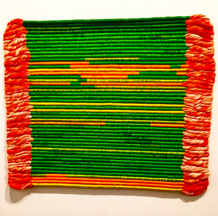 Sheila Hicks, Linen Contained (2003), via Art Observed