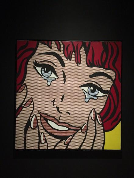 Sturvetant, Study for Lichtenstein's Happy Tears (1967-68)