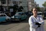 Tania Bruguera in Havana, via NYT
