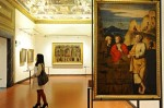 The Uffizi Gallery in Florence, via NYT