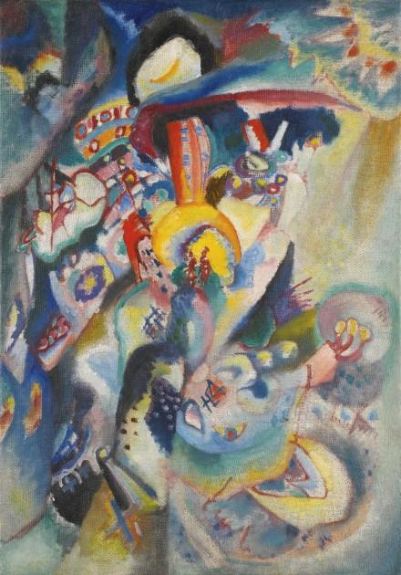 Wassily Kandinsky Moskau II (1916), via Sotheby's