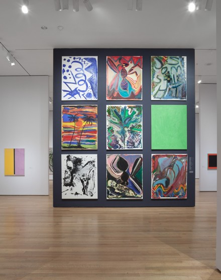 The Forever Now: Contemporary Painting in an Atemporal World (Installation View), Courtesy of MoMA