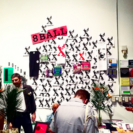 8Ball Zines at LA Art Book Fair, via Art Observed
