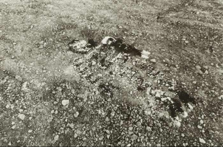 Ana Mendieta, Untitled (1979), via Galleria Raffaella Cortese