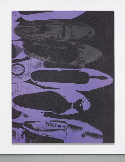Andy Warhol, Diamond Dust Shoes (1980), via Phillips