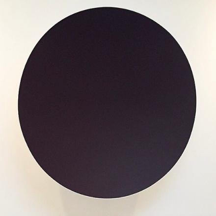 Anish Kapoor, Monochrome (Garnet) (2014), via Art Observed