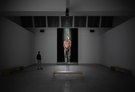 Bill Viola, Transformation (Installation View), all images courtesy Farschou Foundation