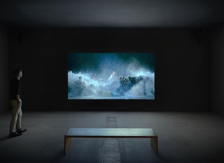 Bill Viola, Transformation (Installation View)