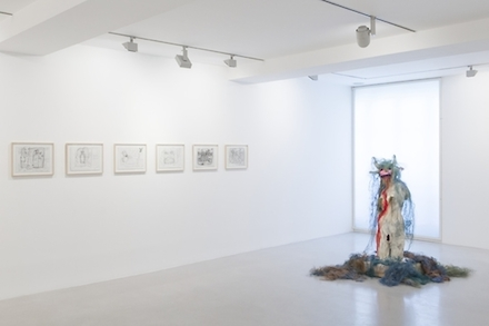 Bjarne Melgaard, The Casual Pleasure of Disappointment (Installation View)