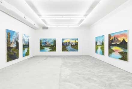 Brendan Lynch, Mountains Collection (Installation View), via Howard St