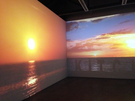 Charles Atlas, The Waning of Justice (Installation View)