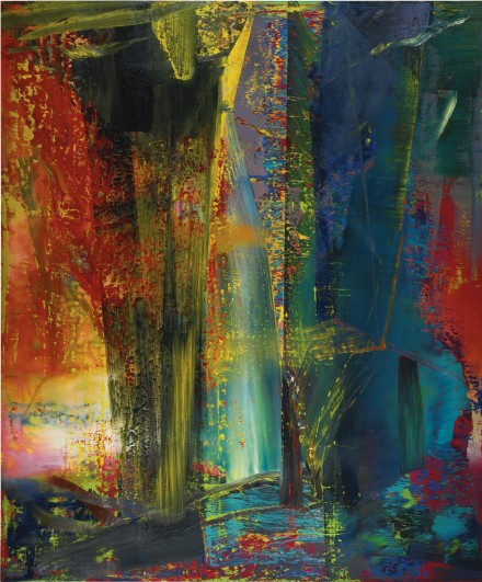 Gerhard Richter, Abstraktes Bild (1983), via Sothebys