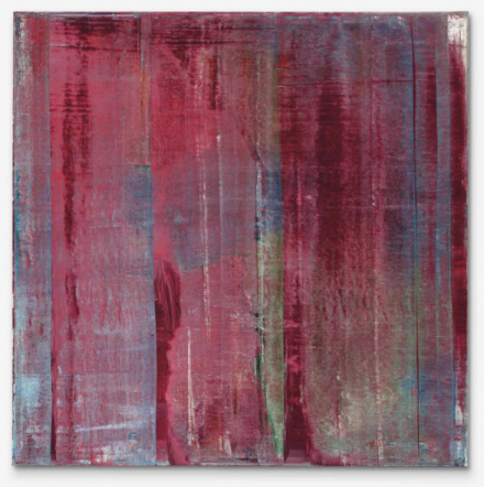 Gerhard Richter, Karmine (1994), via Christie's