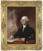 Gilbert Stuart, Portrait of George Washington (1822), via WSJ