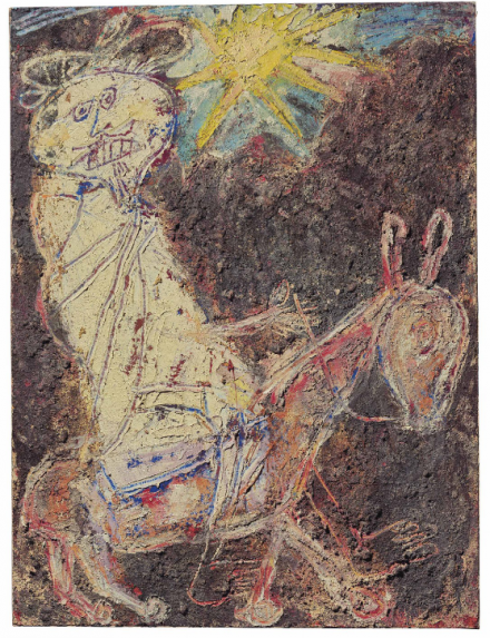 Jean Dubuffet, The Bedouin (1948), via Christie's