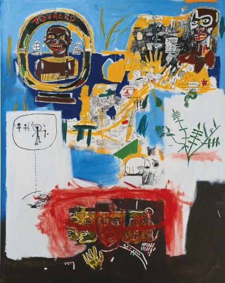 Jean-Michel Basquiat, Campaign (1984), via Sotheby's