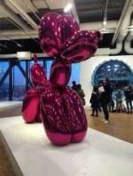 Jeff Koons balloon dog, via Artforum