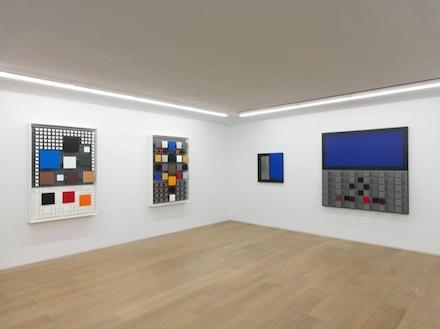 Jesus Rafael Soto_Chronochrome_Galerie Perrotin_installation view 2