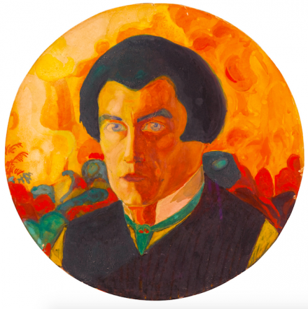 Kazimir Malevich, Self-Portrait (1908-10), via Sothebys