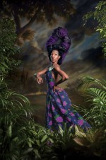 Khalidiah Asante photographed in collaboration with Kehinde Wiley, via New York Magazine