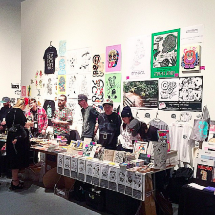 LA Art Book Fair, via Art Observed