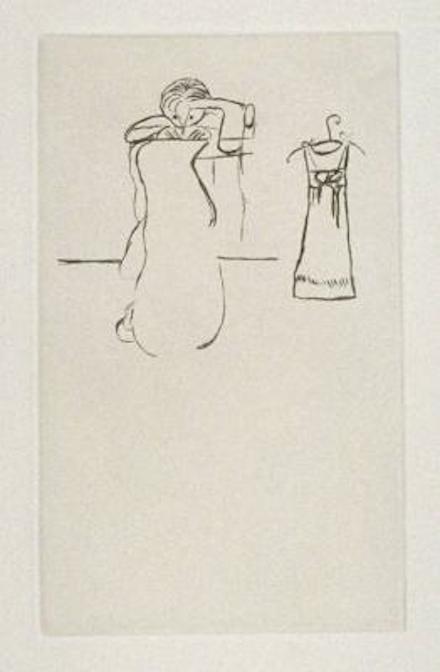 Louise Bourgeois, Sewing (1994)Louise Bourgeois_Sewing, 1994_Galerie Lelong_Estampes