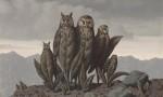 Magritte's Les compagnons de la peur, via The Guardian