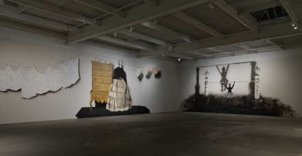 Mamma Andersson, Behind the Curtain (Installation View)