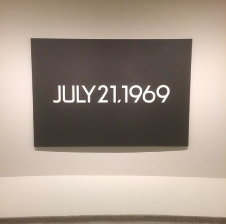On Kawara, July 16th, 1969 (1969), via Art Observed