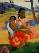 Paul Gauguin, Nafea Faa Ipoipo (When Will You Marry?), via NYT