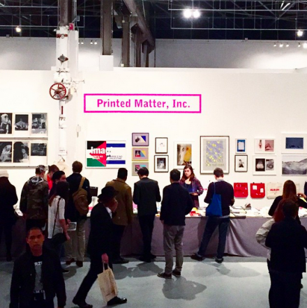 Printed Matter at LA Art Book Fair, via Art Observed