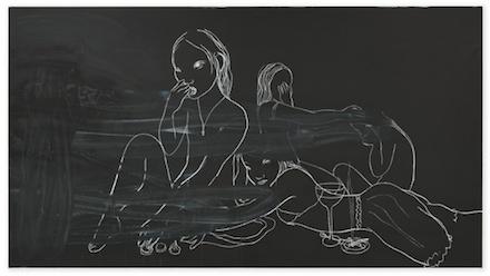 Rita Ackermann, Wiped Out Heroines (2014)