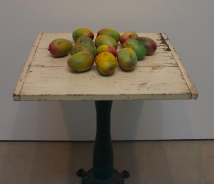 Subodh Gupta, Aam (2015), via Ross Maddux for Art Observed